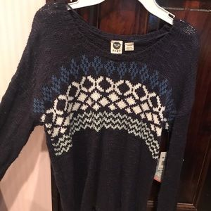 High/Lo Roxy Sweater